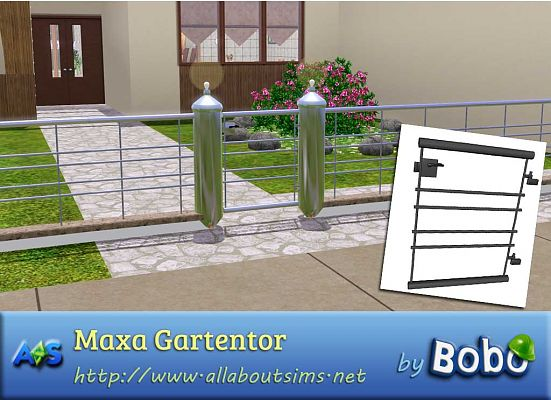 Sims 3 gates, fence, build