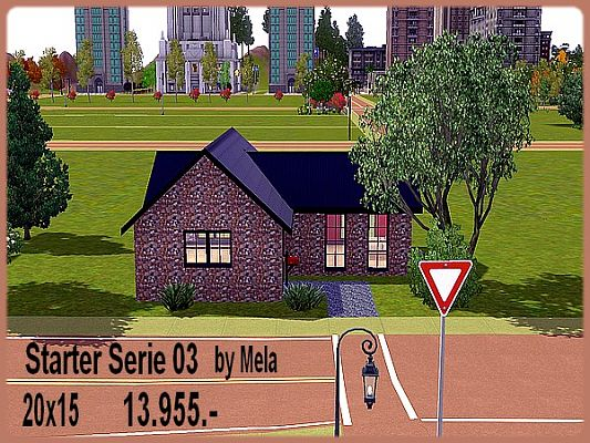 Sims 3 residential, lot, building, house, sims3