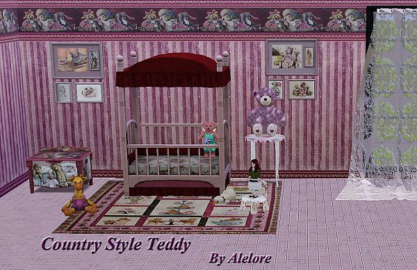 Sims 3 nursery, furniture, room