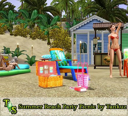 Sims 3 outdoor, objects, decor, sims3