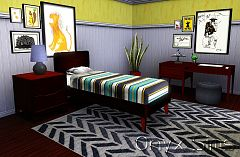 Sims 3 kidsroom, patterns, objects, decor, sims3