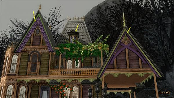 Sims 3 roofs, decor, build, objects, sims3