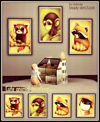 Sims 3 paintings, decor, objects, sims3