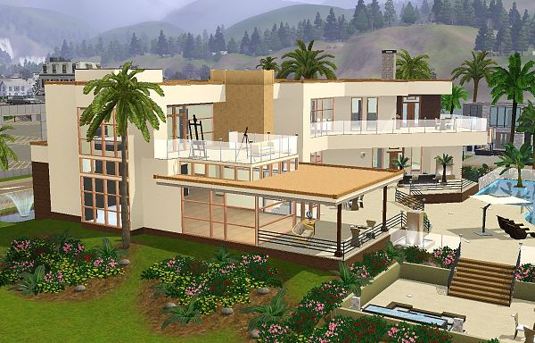 Sims 3 residential, lot, house, building, sims3