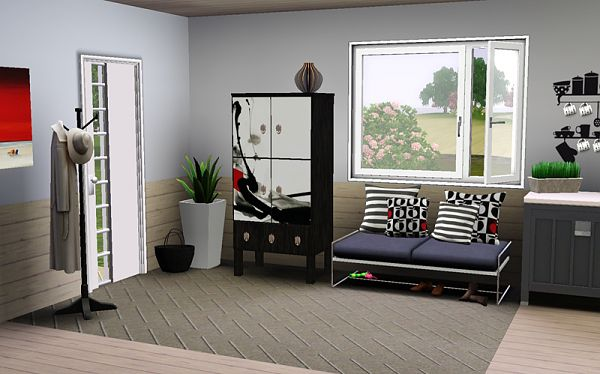 Sims 3 cabinet, hall, furniture