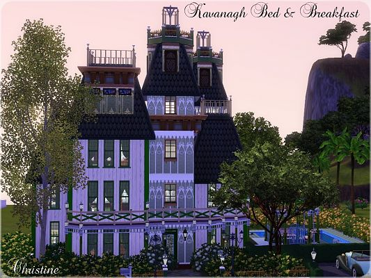 Sims 3 lot, residential, house