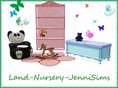 Sims 3 kids, room, furniture, nursery