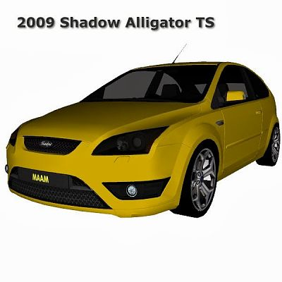 Sims 3 car, ford, focus, vehicle