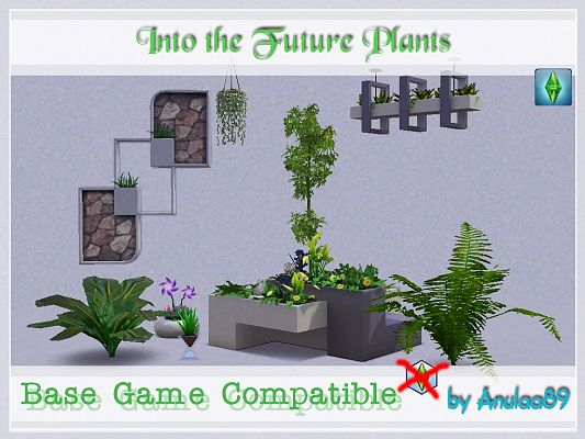 Sims 3 flowers, plants, conversions