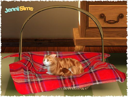 Sims 3 basket cat, buda, decorative, objects