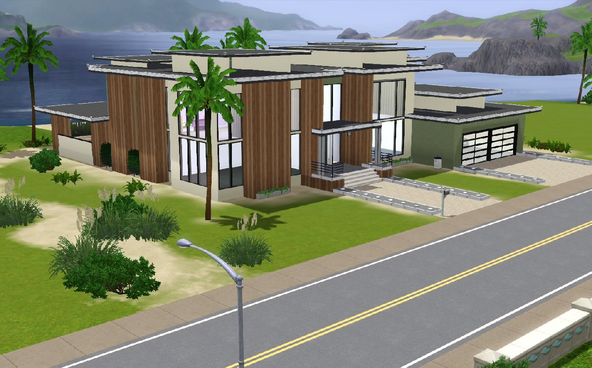 Beach house plans sims 3 for Beach house designs for sims 3