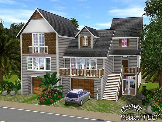 Sims Updates Updates And Finds From Visty Rusty Nail - Cool sims 3 houses