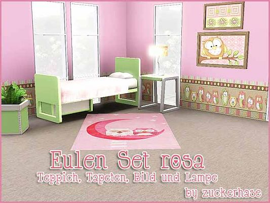 Sims 3 decor, objects, owl