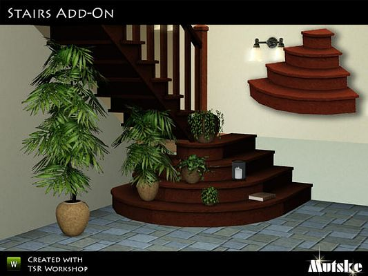 Sims 3 stairs, object, decor