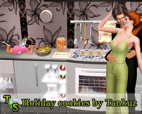 Sims 3 cookies, decor