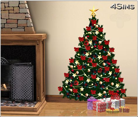 Sims 3 decals, wall stickers, decor, objects, christmas