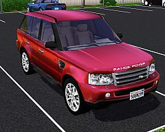 Sims 3  land, rover, range, sport, car, cars