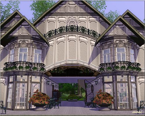 Sims 3 community, lot, coffee house, sims3