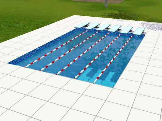 Sims 3 decor, object, pool