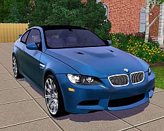 Sims 3  BMW, M3, coupe, car, cars