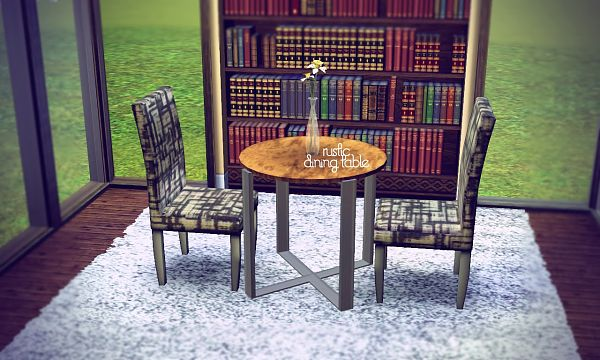 Sims 3 diningroom, furniture, objects, decor, sims3