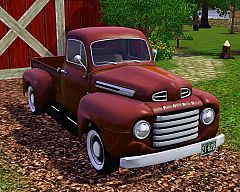 Sims 3  ford, f1, pick up, truck, car, cars