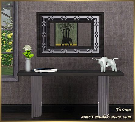 Sims 3 decor, object, hallway, furniture