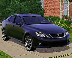 Sims 3  lexus, is f, car, cars
