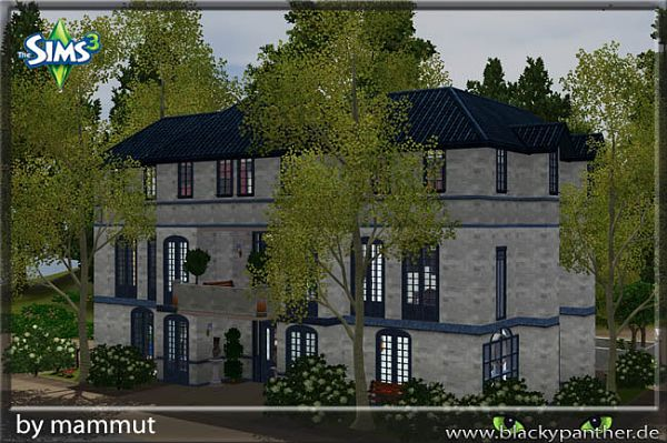 Sims 3 lot, community, center