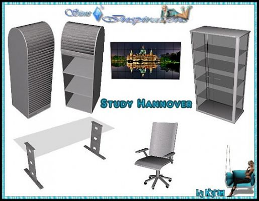 Sims 3 decor, object, study