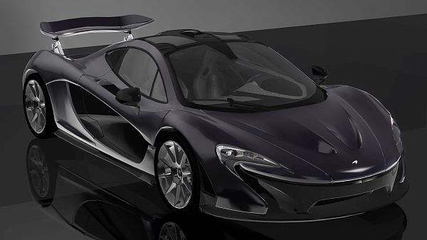 Sims 3 car, auto, vehicle, McLaren