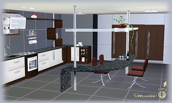 Cuisine design sims 3 Meuble de cuisine sims 4 qui s imbrique