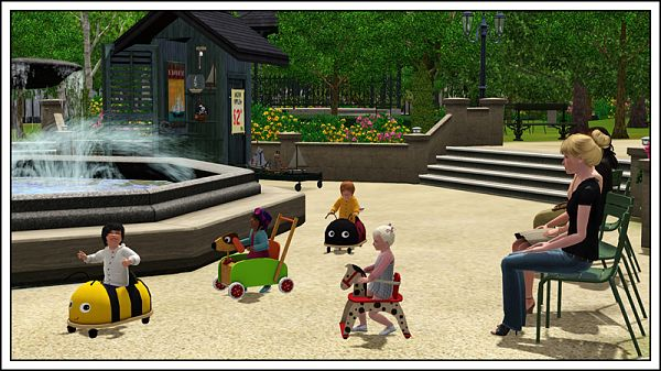 Sims 3 walkers, object, kids, toys