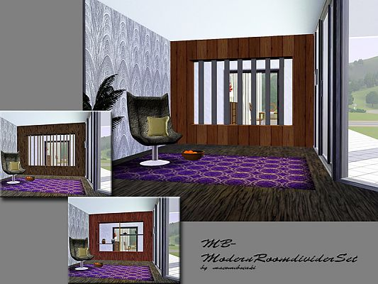 Sims 3 room-divider , decorative, objects