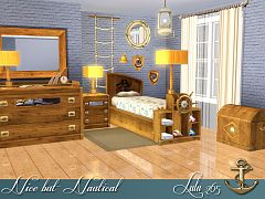 Sims 3 boys, room, furniture