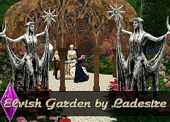 Sims 3 garden, sculpture, build, objects, sims3