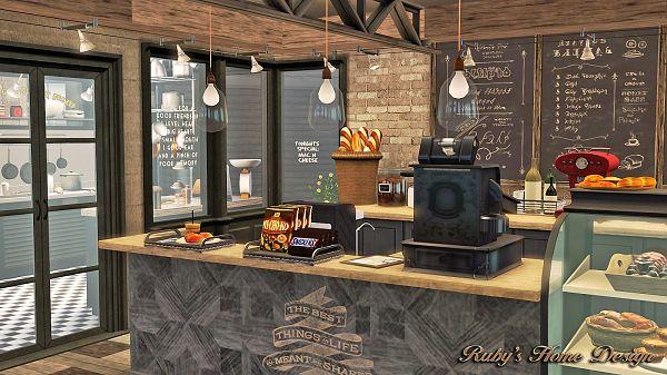 Как сделать в симс 4 кафе