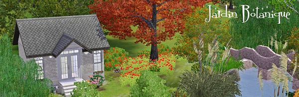 Sims 3 community, lot, botanical garden, sims3