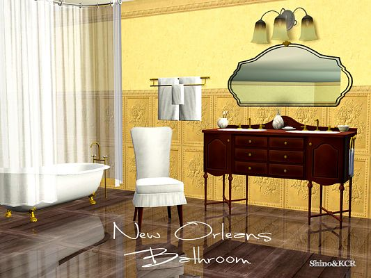 Sims 3 bathroom, furniture, objects, decor, sims3