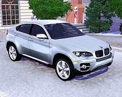 Sims 3  BMW, x6, car, cars