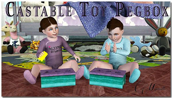 Sims 3 decor, object, kids, toys