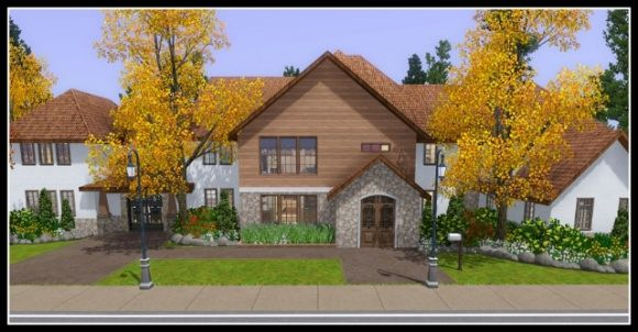 sims 3 big houses download
