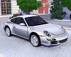 Sims 3  porsche, 911, carrera, car, cars