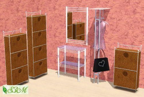 Clothes Dresser Dresser Clothing Rack