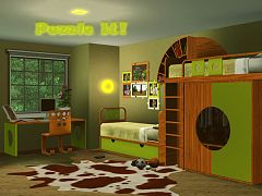 Sims 3 furniture, set, kidsroom