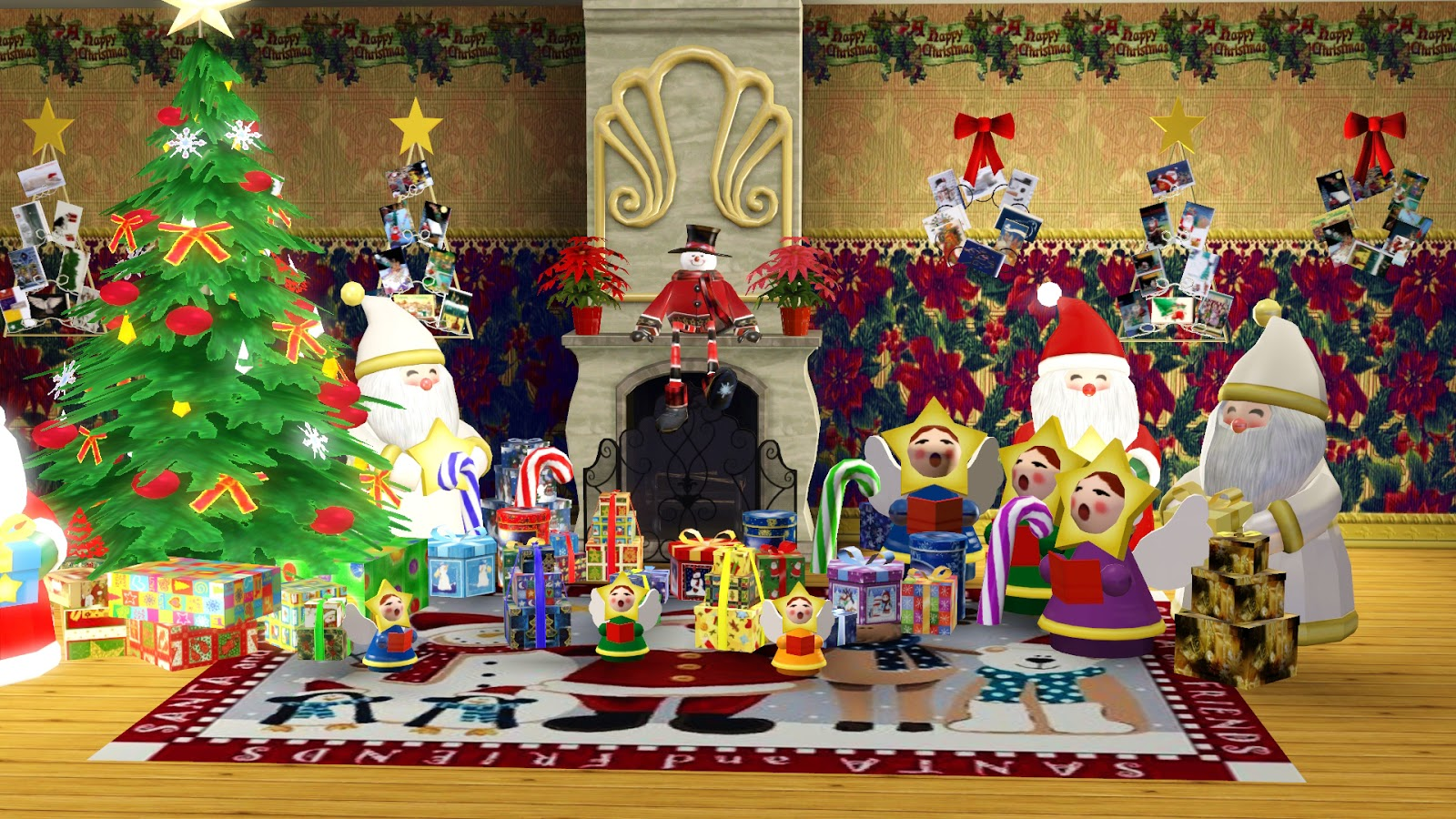Sims 3 Updates - Ladesire Creative Corner: Christmas Decor by Ladesire