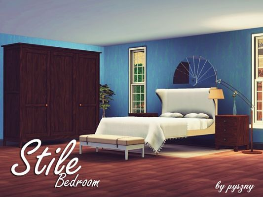 Sims 3 bedroom, furniture, set
