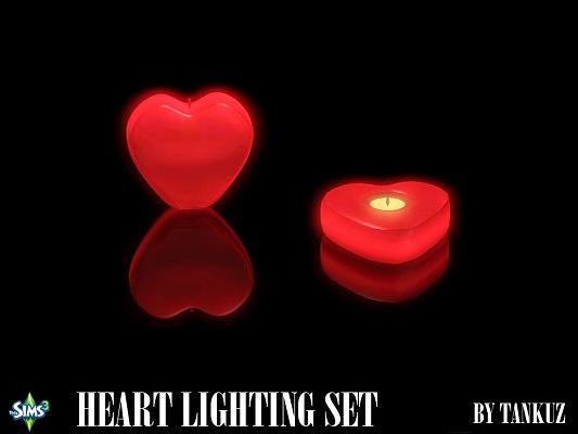 Sims 3 candle, lighting, decor