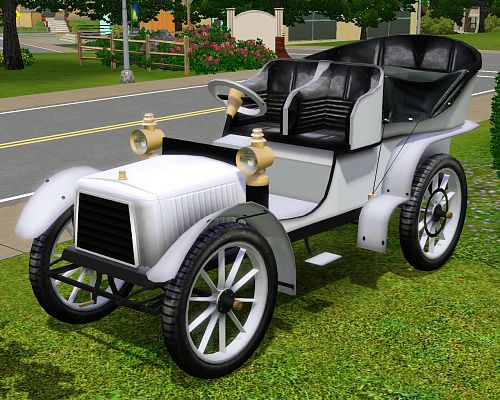 Sims 3 Updates Fresh Prince Creations Decorative Vintage Car By
