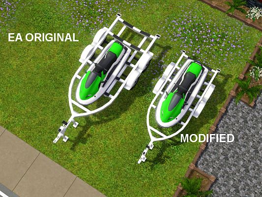 Sims 3 vehicle, jet ski